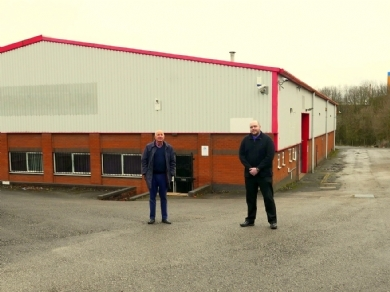 New premises a perfect fit for wholesale hosiery supplier after bidding success