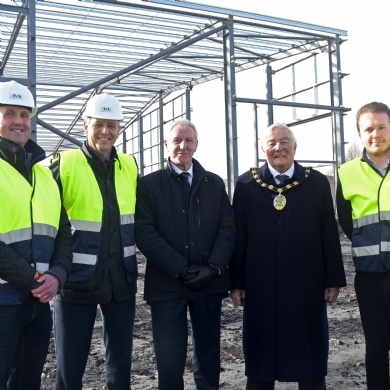 Council Visit PMW's New Swadlincote Development